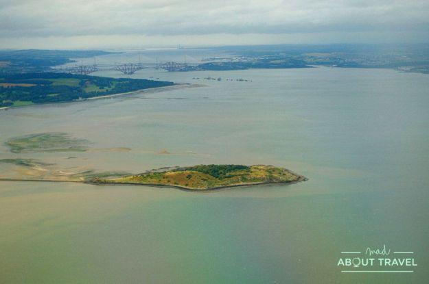 que ver gratis en Edimburgo: isla de cramond