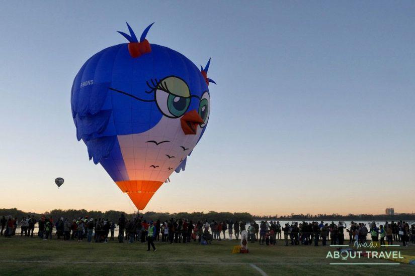 festival del globo de león