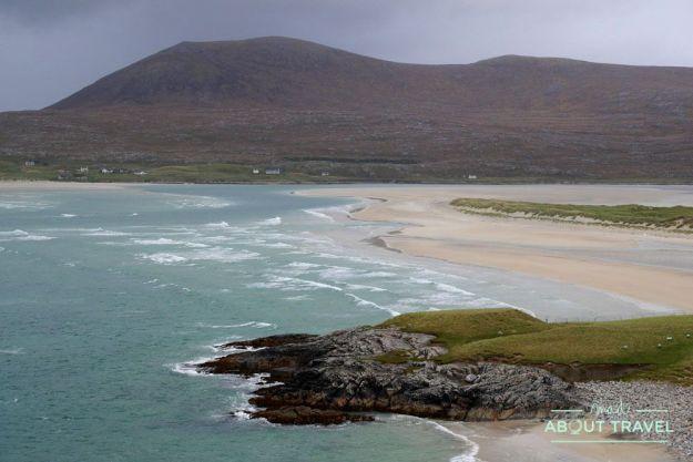 ruta en coche por la isla de lewis y harris: playa de seilebost