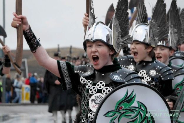 Up Helly Aa, festival vikingo en Shetland