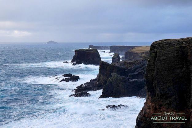 que ver en Shetland - Acantilados de Eshaness