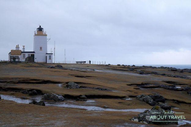 que ver en Shetland - Faro de Eshaness