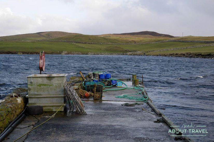 donde comer en shetland - lunna