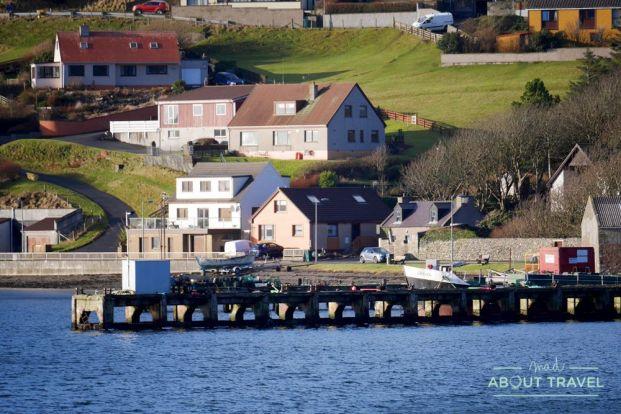 que ver en Shetland - Scalloway