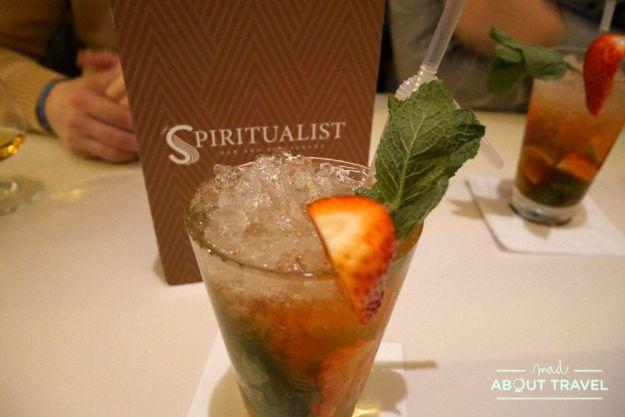 donde comer en glasgow: the spiritualist