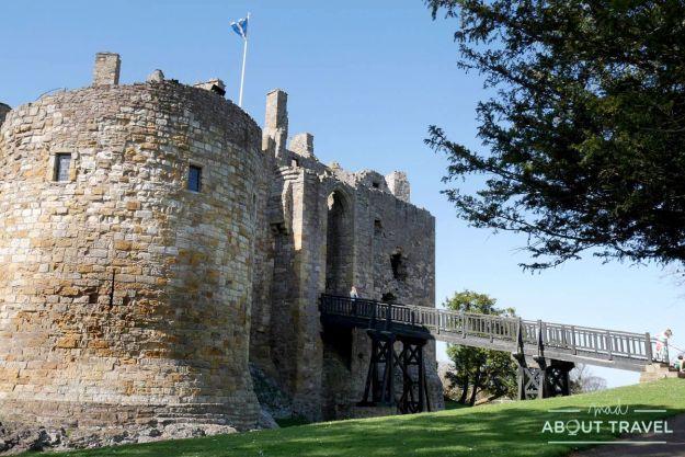 que ver en east lothian: castillo de dirleton