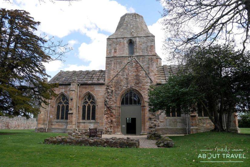 que ver en east lothian: seton collegiate church