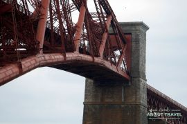 puente forth rail bridge en el firth of forth