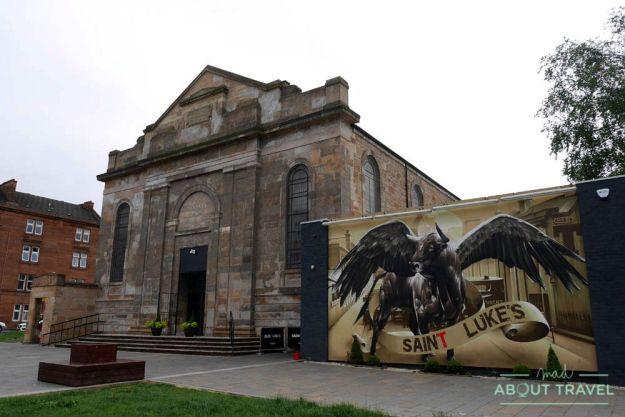 St Luke's and the Winged Ox en Glasgow