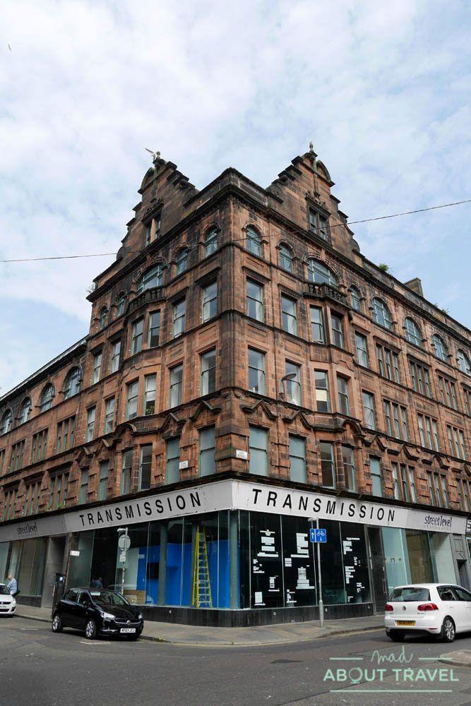 Galería de arte Transmission en Glasgow
