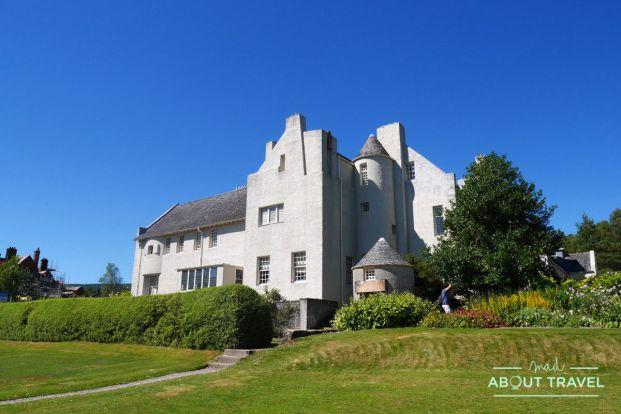 Hill house de mackintosh en Helensburgh, Escocia