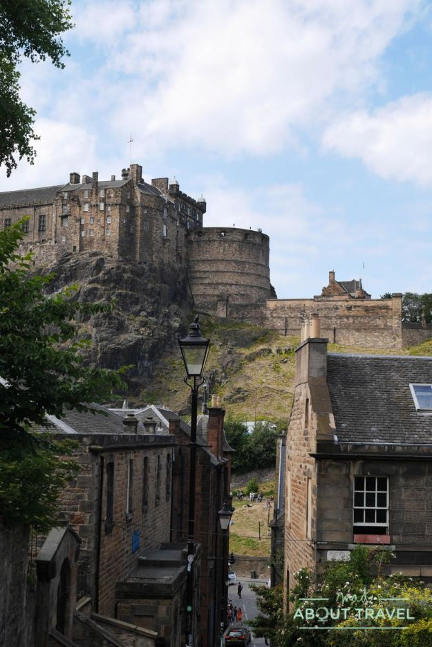 Edinburgh Music Tour: castillo de Edimburgo