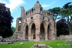 Abadía de Dryburgh, Borders de Escocia