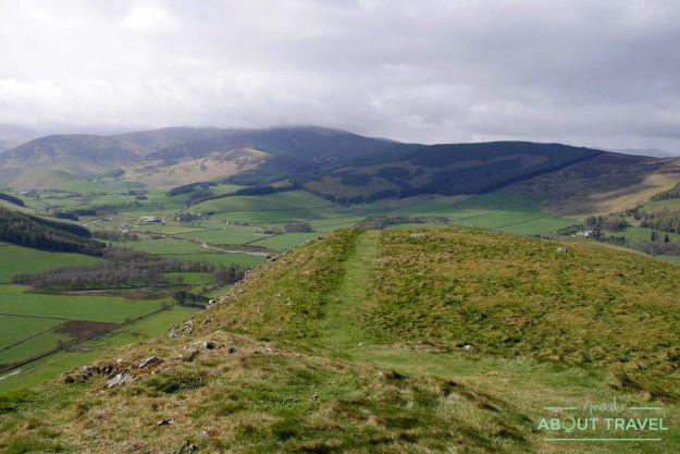 cademuir hills, borders de escocia