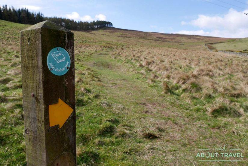 John Buchan Way, senderismo en los Borders de Escocia
