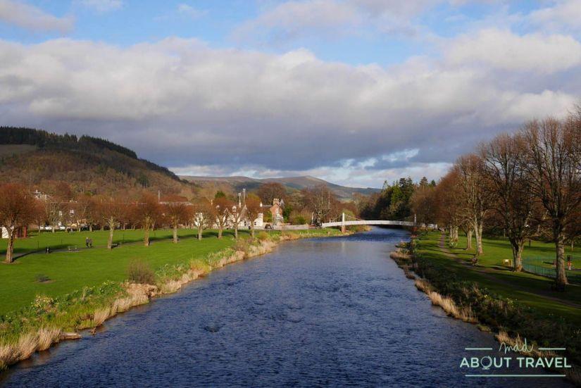 Pueblo de Peebles, Borders Escocia