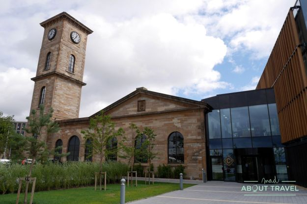 Destilería de whisky Clydeside Distillery en Glasgow