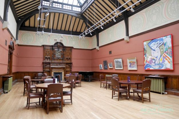 ruta de mackintosh Glasgow: Art Club