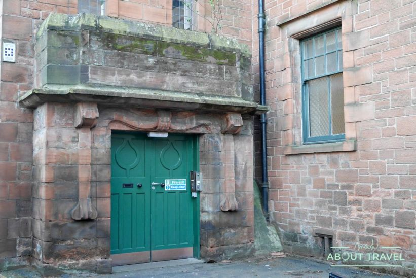 ruta de mackintosh Glasgow: Martyr's School