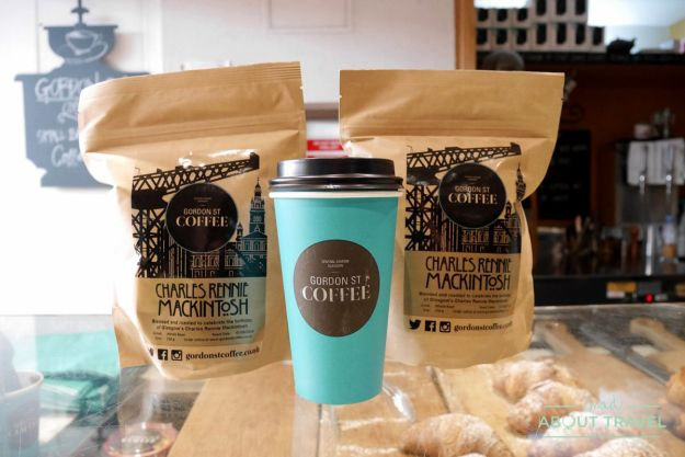 ruta mackintosh glasgow: gordon street coffee