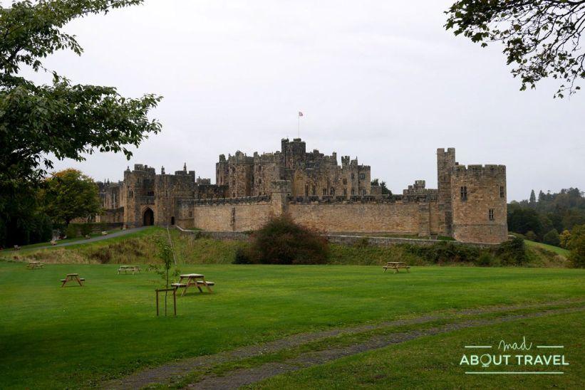 castillo de alnwick, northumberland