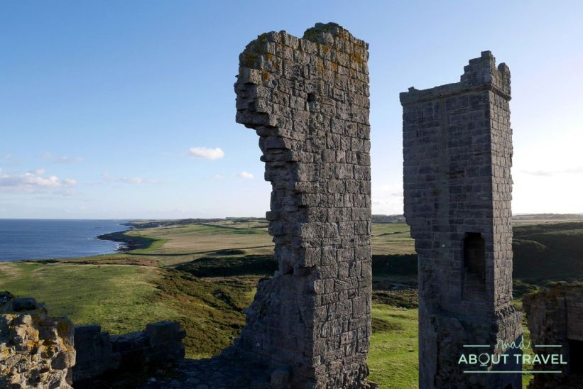 castillo de dunstanburgh, northumberland
