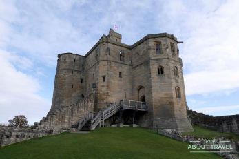castillo de warkworth, northumberland