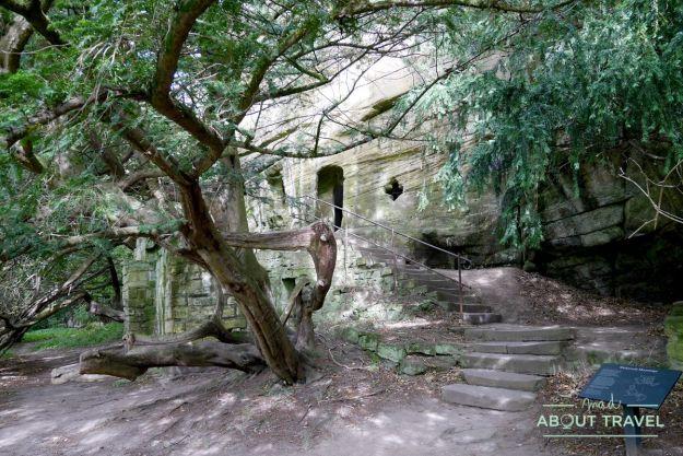 Hermitage de Warkworth, Northumberland