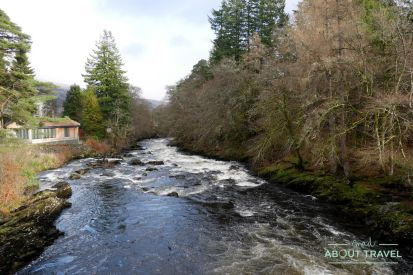 Falls of Dochart, Killin, Highlands Escocia