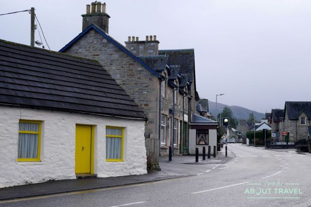 High Street de Killin, Highlands de Escocia