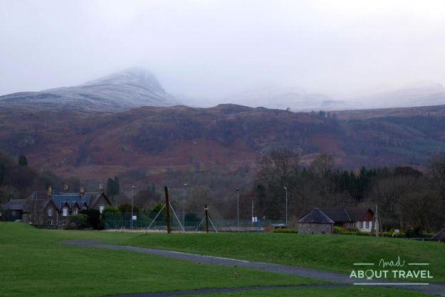 Parque de Breadalbane en Killin, Escocia