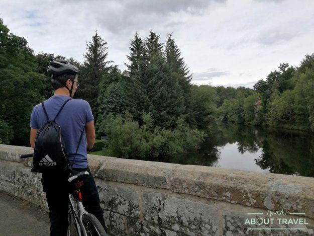 ruta en bicicleta desde Edimburgo: cramond