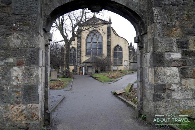 ruta de Harry Potter en Edimbugo: cementerio de Greyfriars
