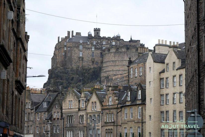 ruta de Harry Potter en Edimbugo: castillo de Edimburgo