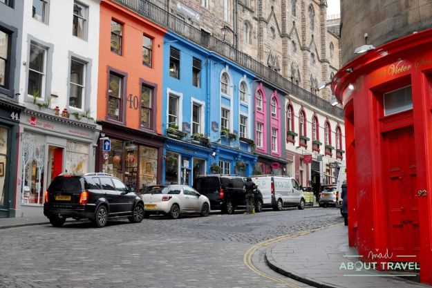 ruta de Harry Potter en Edimbugo: Victoria Street o Callejón Diagon