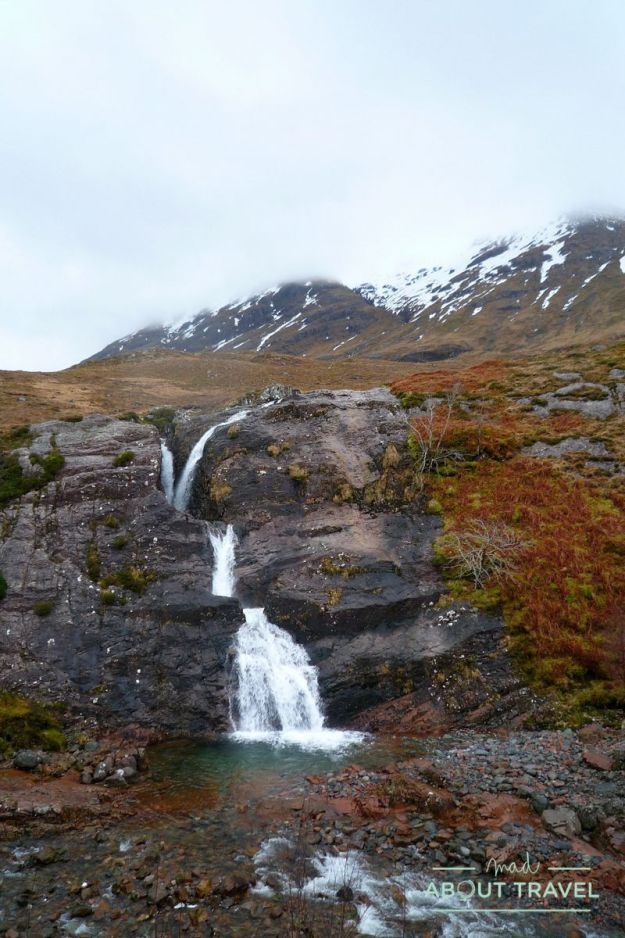 que ver en glencoe: meeting of three waters