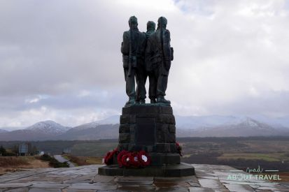 commando memorial en Spean Bridge, Highlands de Escocia