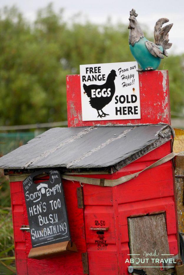 Honesty Box en Bettyhill, Escocia