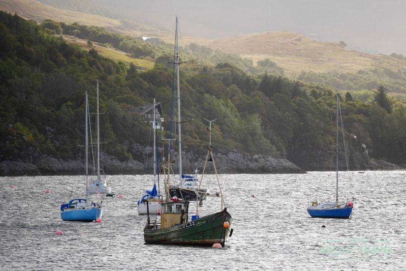 puerto de Ullapool, Escocia