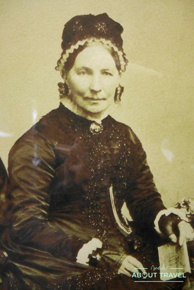 Elizabeth Cummings, una de las fundadoras de la destilería de whisky cardhu