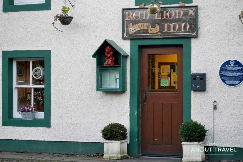 donde comer en culross: red lion inn