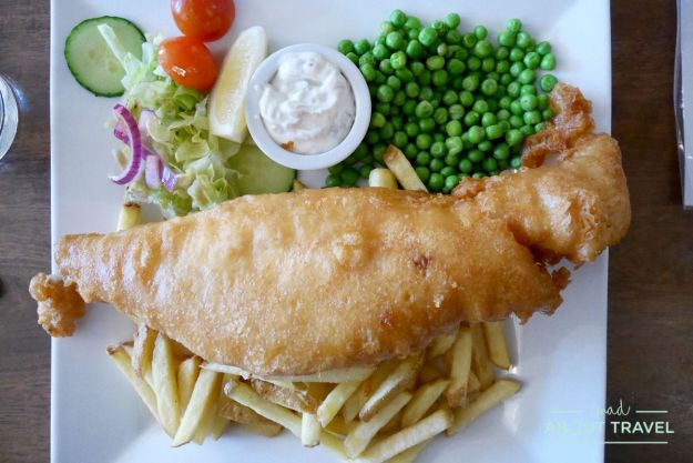 fish and chips, Dufftown