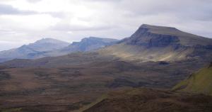 Ruta senderista por el Quiraing, Escocia