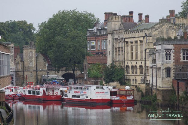 barcos en el río Ouse, York