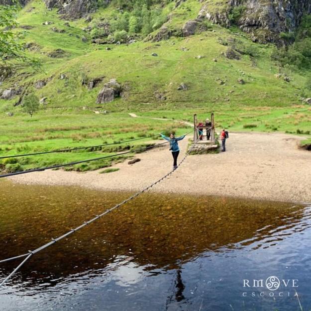 Glen Nevis es una de las rutas de senderismo favoritas del equipo de Rmove Escocia