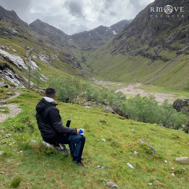 Tómate el café en medio de la nada como Rubén. Lost Valley, Highlands