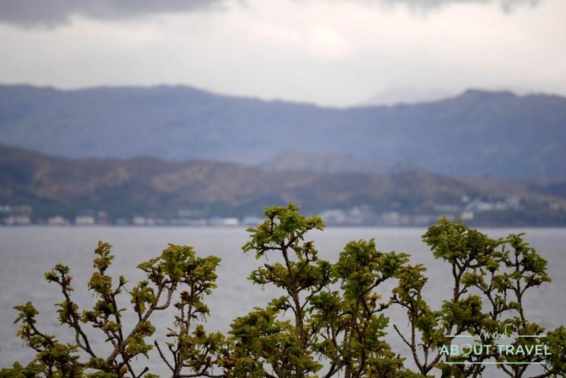 vistas desde el castillo de Armadale sobre el Sound of Sleat, en la isla de Skye