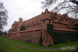 castillo de Malbork, Polonia