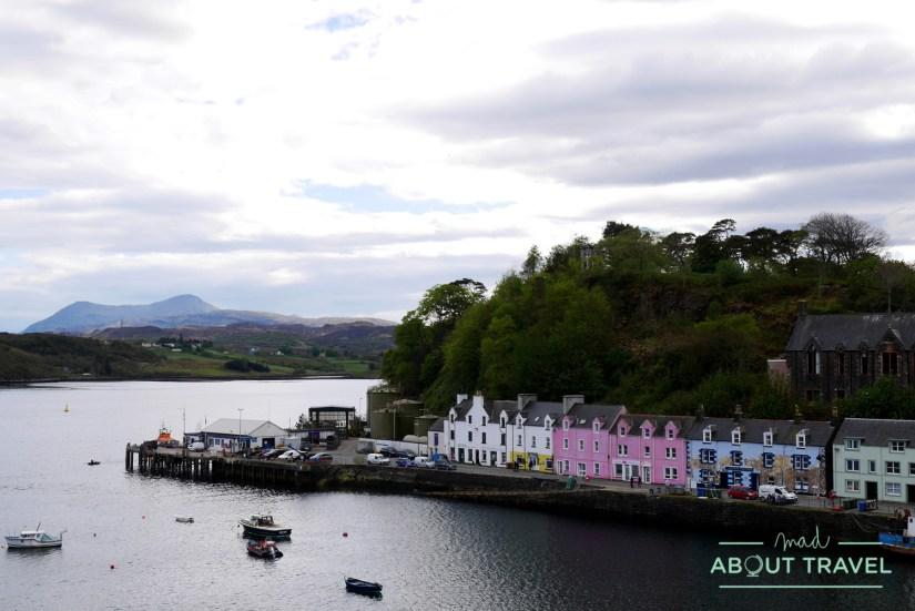Puerto de Portree, isla de Skye