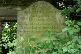 cementerios de edimburgo: canongate